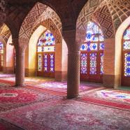 Ein Farbentraum: die Moschee von Shiraz
