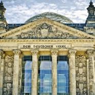 Ein Iraner spricht vor dem Deutschen Bundestag
