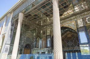 By Antoine Taveneaux (Own work) [CC BY-SA 4.0 (http://creativecommons.org/licenses/by-sa/4.0)], via Wikimedia Commons File: https://upload.wikimedia.org/wikipedia/commons/7/76/Golestan_Palace_Teheran_06.jpg Page: https://commons.wikimedia.org/wiki/File%3AGolestan_Palace_Teheran_06.jpg