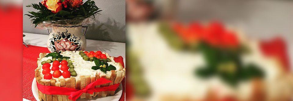 Persische Küche, hübsch angerichtet