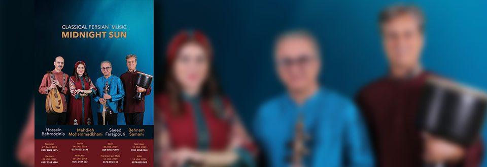 """Konzerte der Musikgruppe """"Midnight Sun"""" in Deutschland"""