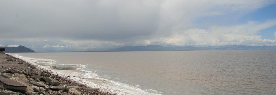 Der Urmia-See schrumpft um über 1.500 km2